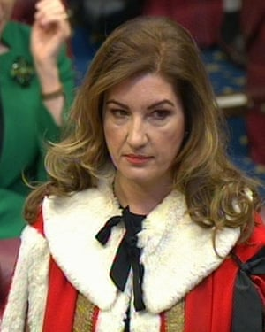 Brady in the House of Lords, 2014.