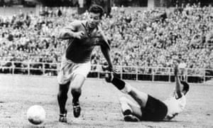 Fontaine in his prime at the 1958 World Cup.