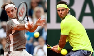 Roger Federer will face Rafael Nadal in the semi-finals after both men progressed to the last four on Tuesday.