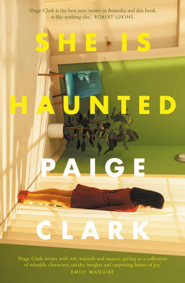 A cover image of the book She is Haunted, by Paige Clark
