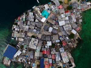 the magical realism of santa cruz del islote photo essay world  birdseye view of the island