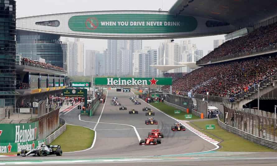 The Shanghai International Circuit