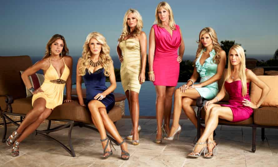 California love ... The Real Housewives of Orange County.