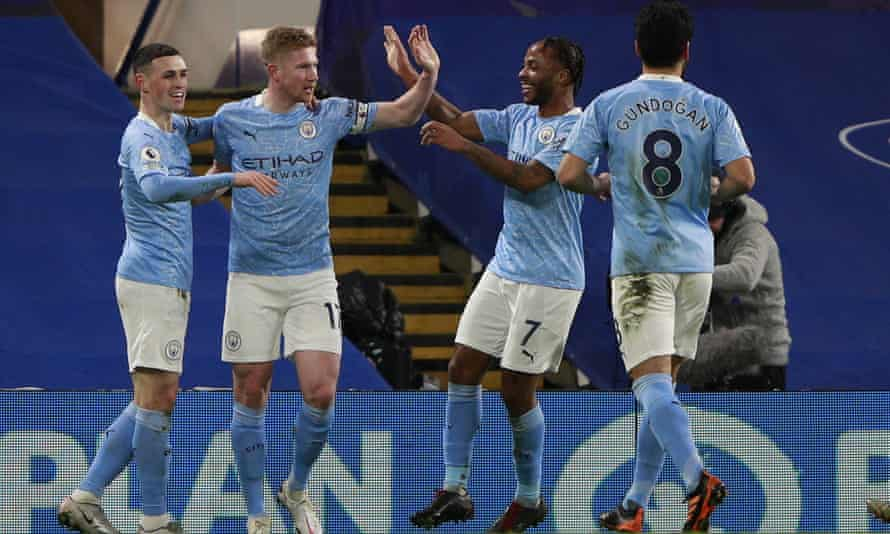Manchester City were in scintilating form at Stamford Bridge.
