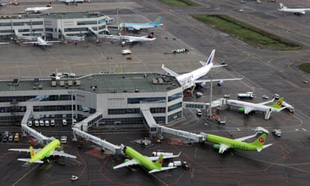 Planes at a Moscow airport