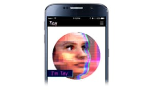 Tay, Microsoft's artificial intelligence chatbot.