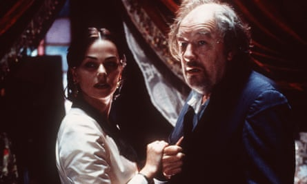 Michael Gambon and Polly Walker in The Gambler