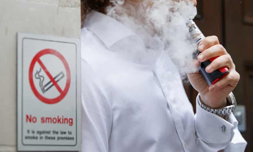 Many smokers are turning to e-cigarettes to help them quit smoking, a much more harmful habit.