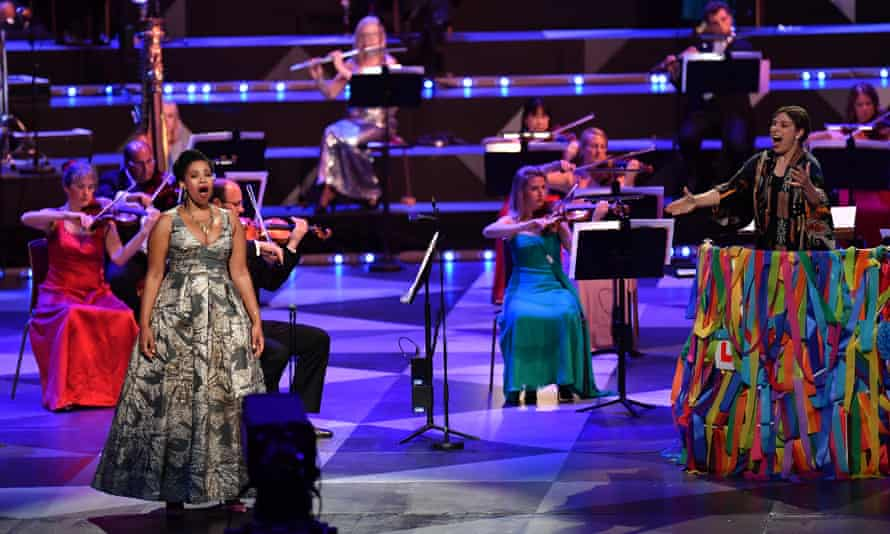 Last Night of the Proms 2020. The BBC Proms is one of the signatories of the Keychange initiative for gender equality.