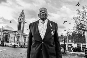 Photographs of the Windrush generation in south London by photographer Jim Grover.