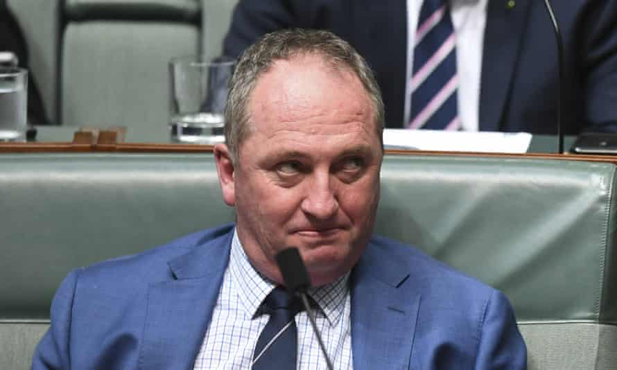 Barnaby Joyce: 'I would take it, but I am not touting for it.'