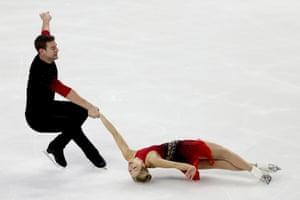 Alexa Knierim and Brandon Frazier