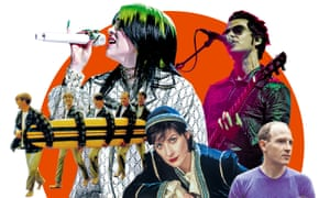 Sound of music: (l-r) the Beach Boys; Billie Eilish; Enya; Kelly Jones of the Stereophonics; and Caribou.