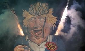 The Edenbridge Bonfire Society celebrity guy