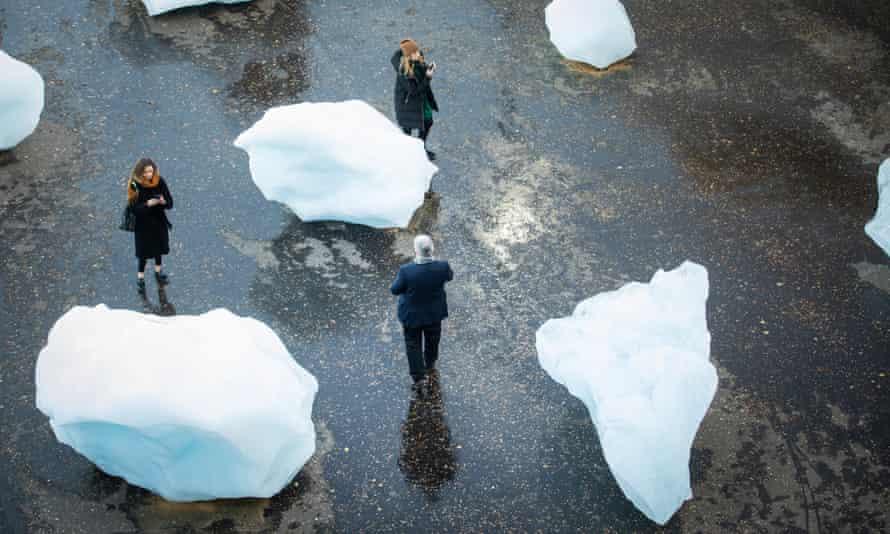Olafur Eliasson's Ice Watch.