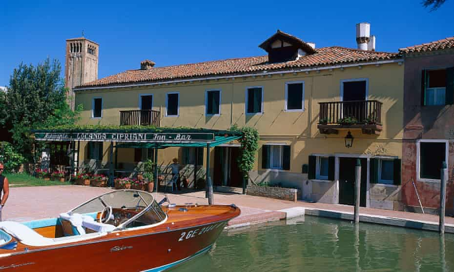 Locanda Cipriani, on Torcello, one of the islands of the Venetian lagoon.