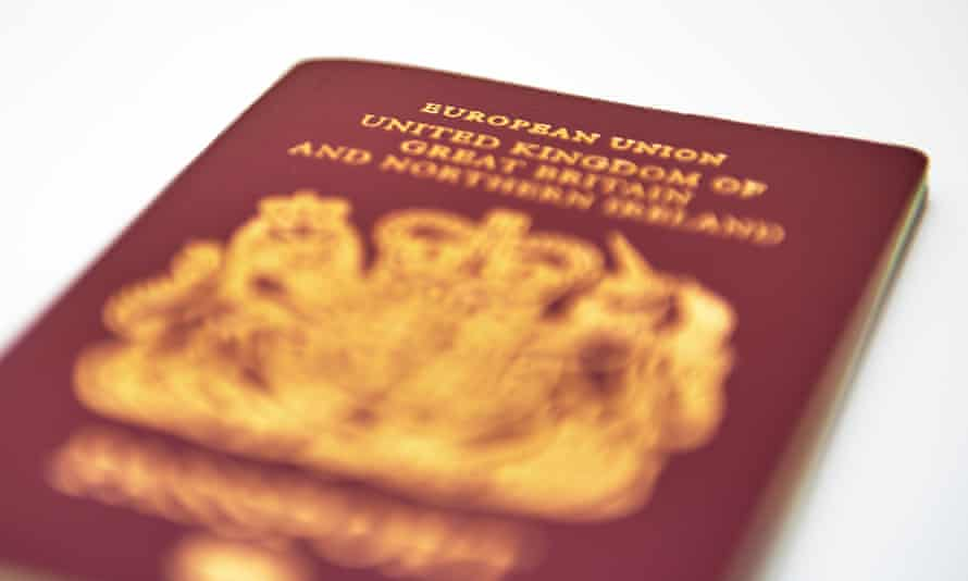 A European Union passport.