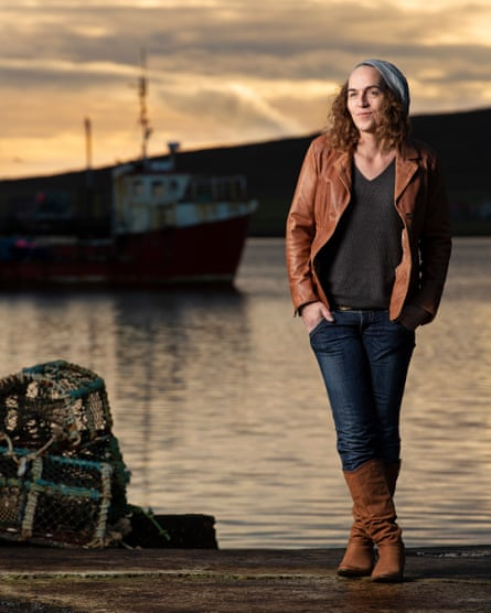 'My sister said I should transition in the city, where nobody knew me,' says Gina Ritch, who instead decided to return to the Shetland Islands.