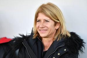 AC Milan head coach Carolina Morace.