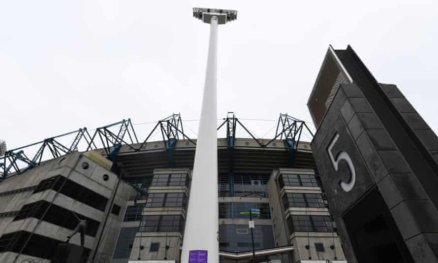 The gate 5 entrance at the MCG stadium in Melbourne.