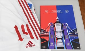 The official 2020 FA Cup final matchday programme.