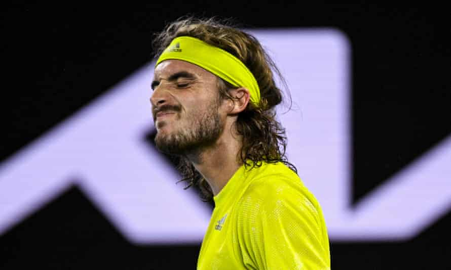 Stefanos Tsitsipas is often seen as a hair from Roger Federer and Pete Sampras' lineage of classic one handed players.