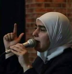 The human rights activist Bayan Wehan.