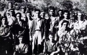Liverpool members of the International Brigades, c.1937.