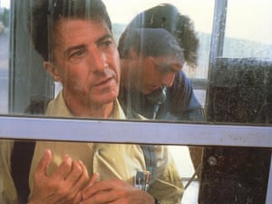The charm of special powers … Dustin Hoffman and Tom Cruise in Rain Man.