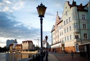 The Fishing Village neighbourhood in Kaliningrad.