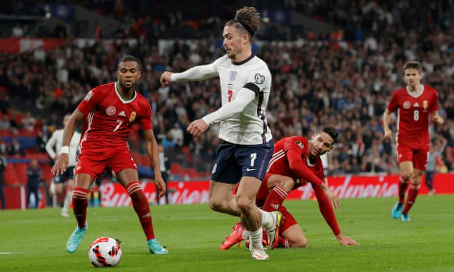 Jack Grealish came off on the hour as England's experiment faltered.