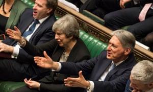 Debate in parliament UK