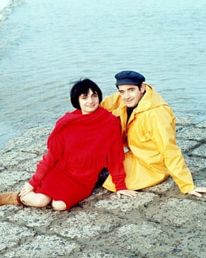 Varda with her hasuband, director Jacques Demy, in 1990.