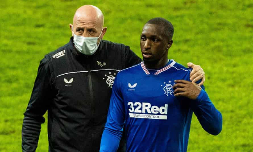 Rangers' Glen Kamara (right) recently revealed he is receiving racist abuse every day.