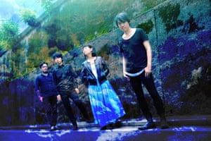 Japanese shoegaze band dive.