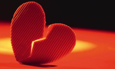 Picture of broken heart