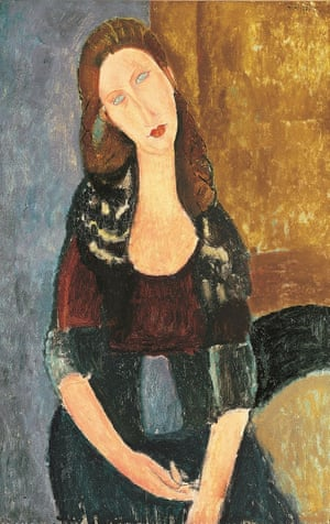 Jeanne Hébuterne Seated (1918) … the meekest of Modigliani's serious lovers. Photograph: Tate