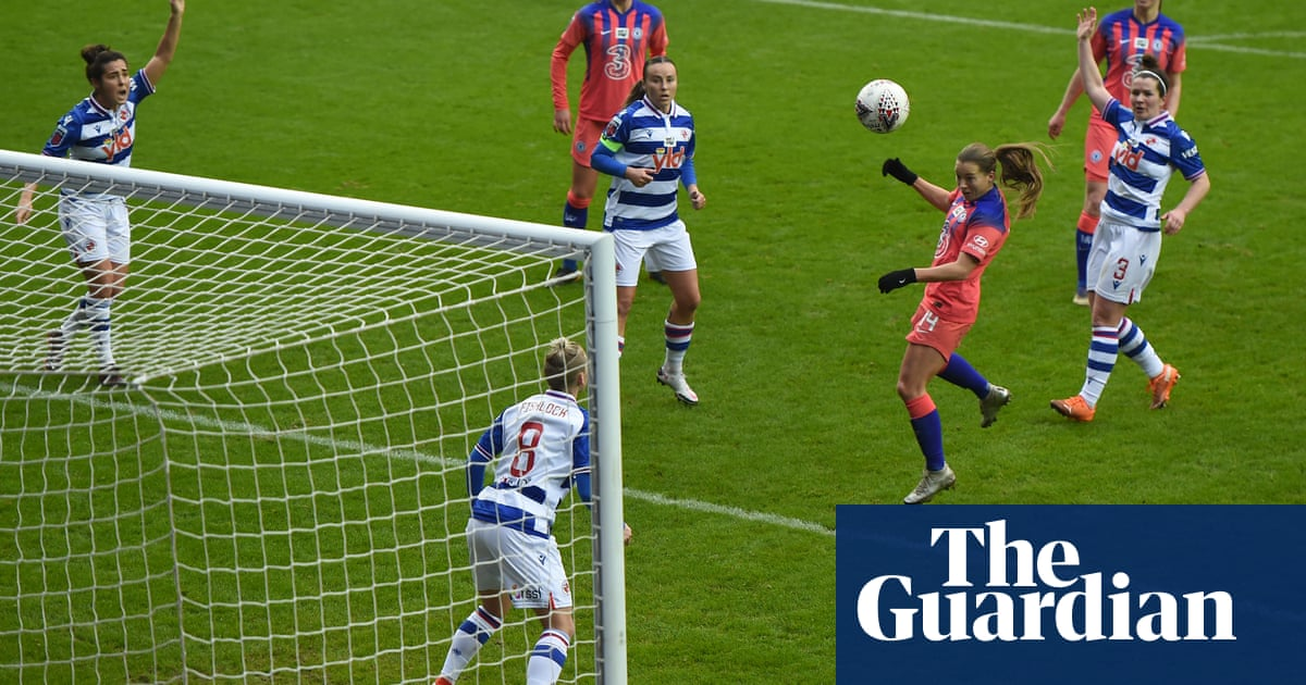 Fran Kirby scores four times in Chelseas emphatic WSL victory at Reading