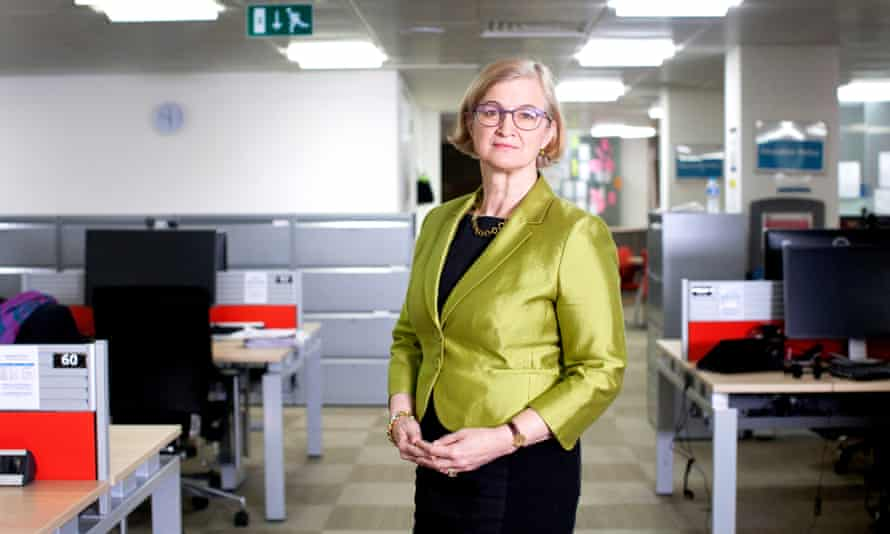 """Amanda Spielman, the new Ofsted chief inspector of schools. 'Schools literally lived or died by the cosh of Ofsted reports,"""" writes Mark Lewinski."""