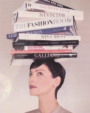 Joan Juliet Buck – Portrait for Talk Mag by Jean-Baptiste Mondino, 1999