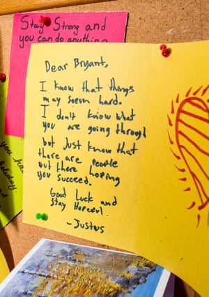 Letters of supports from a local school written to the family of Ingrid Latorre.