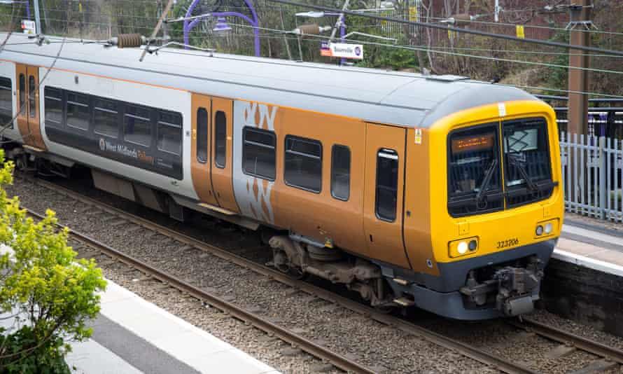 A West Midlands Railways train.