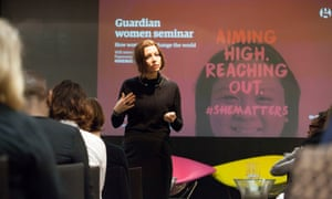 Elif Shafak, author, columnist, speaker and academic at the Guardian women seminar: How women can change the world.