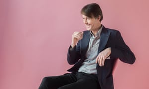 Brett Anderson photographed in the Observer offices for the Observer New Review by Pal Hansen