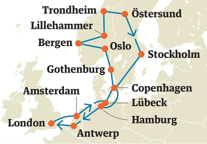 Five great Interrail itineraries across Europe | Travel | The Guardian