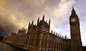 The Houses of Parliament. MPs are debating English votes for English laws.