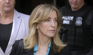 Felicity Huffman: 'I am in full acceptance of my guilt, and with deep regret and shame over what I have done, I accept full responsibility for my actions and will accept the consequences that stem from those actions.'