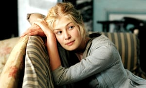 Rosamund Pike as Jane Bennet in the 2005 film version of Pride and Prejudice.