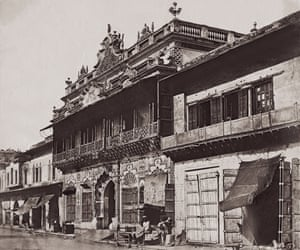 A haveli, or townhouse. on Chandni Chowk in 1858.