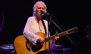 Stirring as ever … Judy Collins, pictured here performing in 2017.